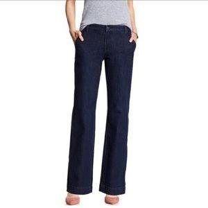 Banana Republic Classic Trouser Leg Jeans